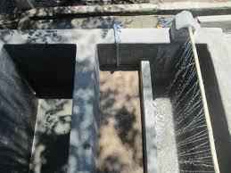 Dàn phun nước của bể lọc ba ngăn