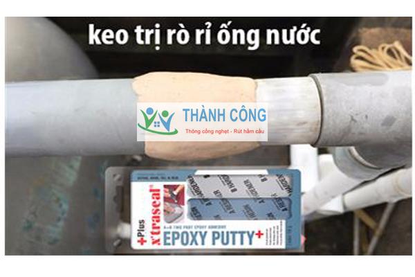 Xử lý bể nước bị rò bằng Epoxy