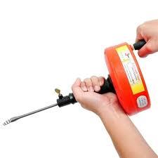 Giới thiệu những dụng cụ thông ống thoát nước hiệu quả
