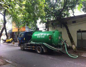 dịch vụ hút bể phốt tại quận Long Biên