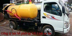 Công ty hút bể phốt tại huyện Mê Linh Uy tín