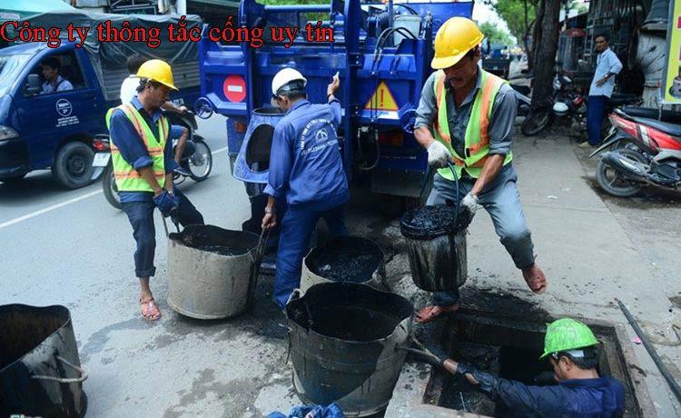 Công ty thông tắc cống uy tín tại Hà Nội